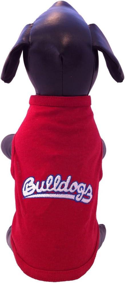 XX-Large NCAA Fresno State Bulldogs Cotton Lycra Dog Tank Top