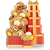 GiftTree Definitive Cookie Classics Tower | Delicious cookies overflow from this abundant and generous five-box tower, exclusively designed to keep on giving | Sweet gift for someone special