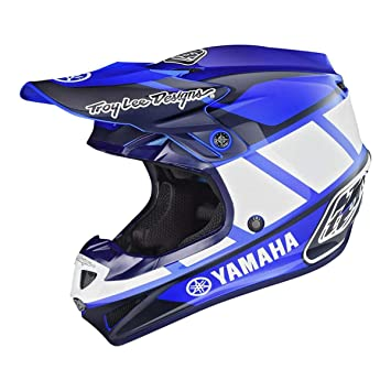 Troy Lee Designs SE4 Polyacrylite TLD Yamaha RS1 - Casco de moto para adulto