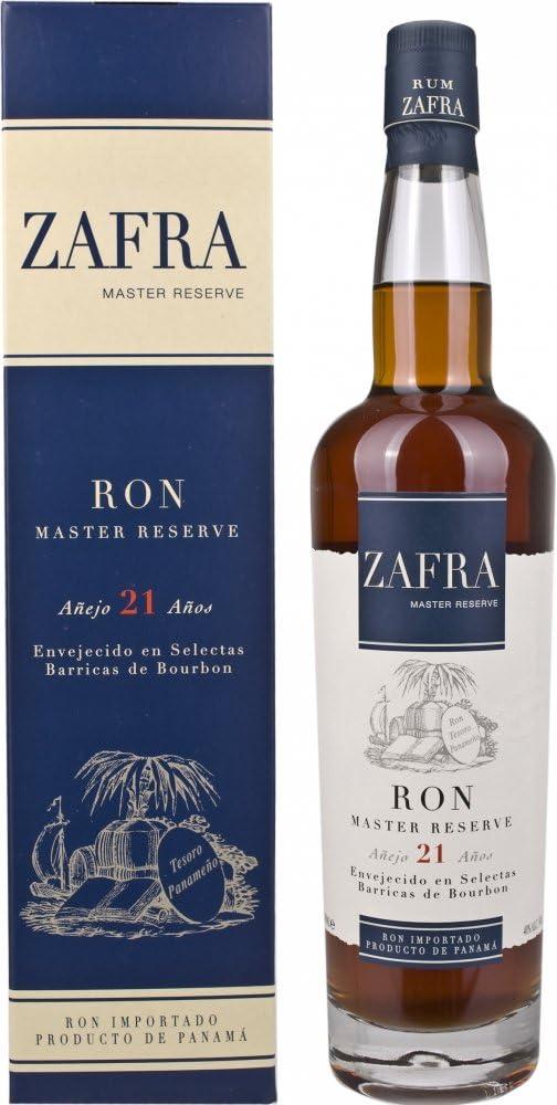 Zafra Master Reserve 21 Años de Edad Ron - 700 ml