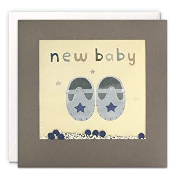 James Ellis PT3229 - Tarjeta de felicitación para recién nacido ...