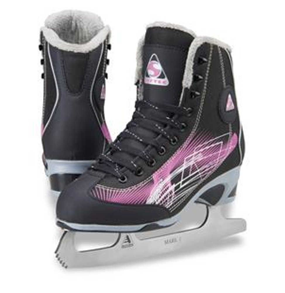 Jackson Ultima Figure Skates Rave Womens RV2000 Purple Width Medium