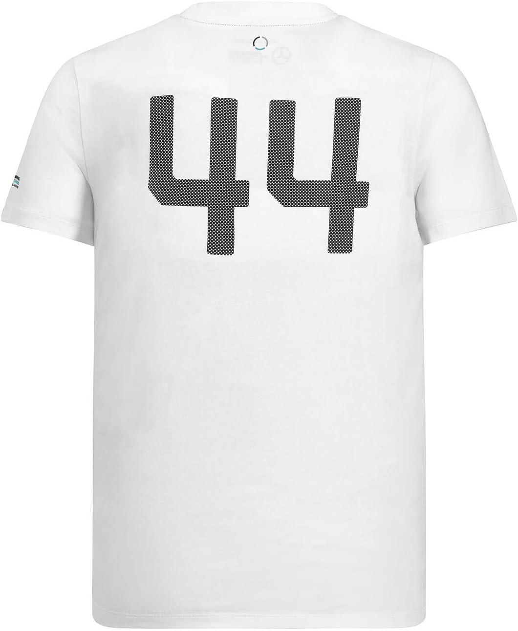 2018 Mercedes-AMG F1 Lewis Hamilton Mens Logo T-Shirt Formula 1 Team