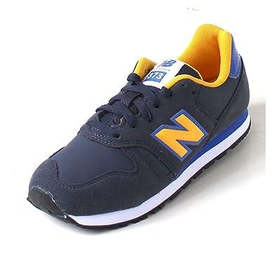 New Balance 373, Baskets Mixte Enfant, Jaune (Yellow), 36 EU
