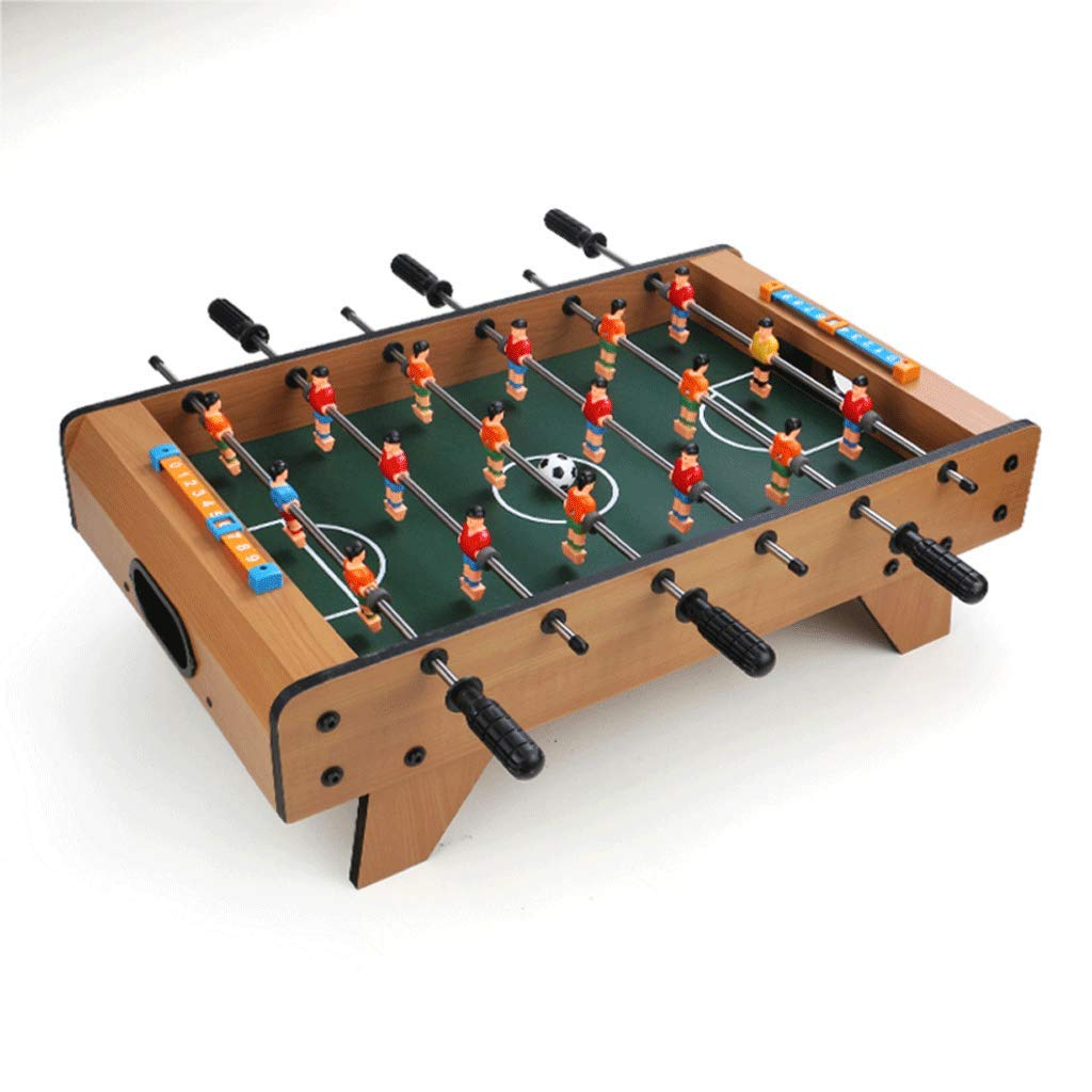 ZYN Football Table Wooden Toy Parent-Child Interaction Relieve Stress Over 3 Years Old (Size : 68 (L) × 40 (W) × 21 (H) cm)