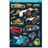 Hot Wheels Coloring Book Super Set with Stickers -- 2 Books and Over 60 Stickers!