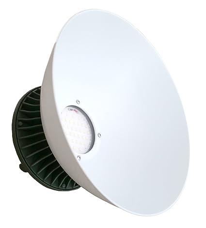 AS DE LED Foco industrial 30 W, Blanco