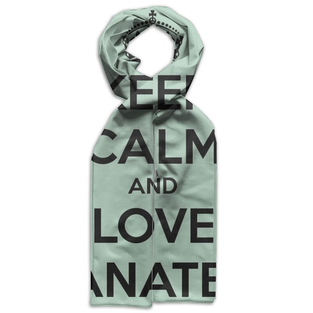 Keep Calm And Love Manatee Oblong Unisex Warm Kids Scarf Gorgeous For Winter.fall Beachwear Boys Scarves by Dongtiandaole (Image #1)