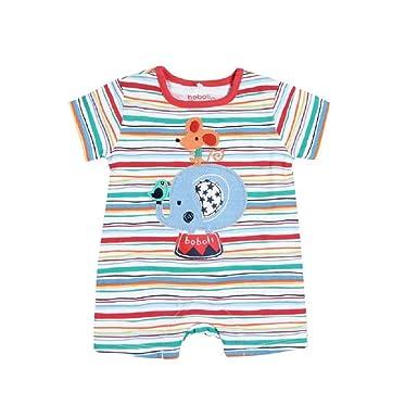 boboli Pelele Punto de bebé niño Modelo 157025 (3M): Amazon.es: Ropa ...