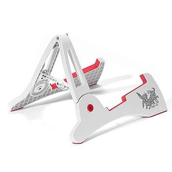Plegable Soporte para guitarra eléctrica acústica soporte portátil – Soporte Color blanco