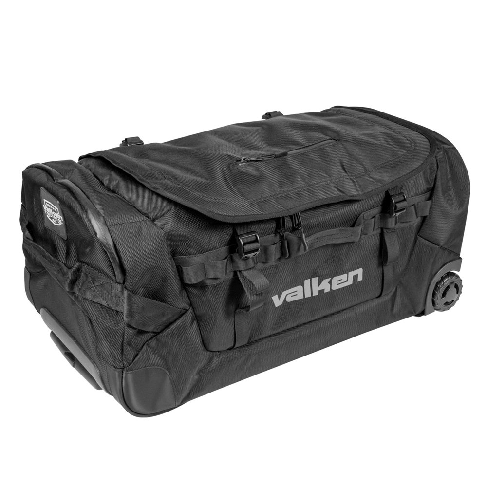 Valken Agility Rolling Gear Bag - Black, Large by Valken (Image #1)