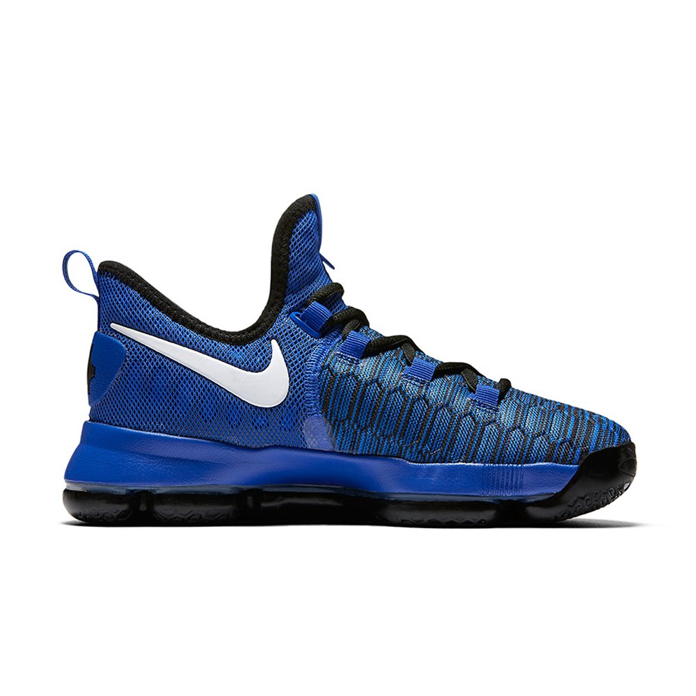 Nike Kids Grade School Zoom KD 9 Basketball Shoes 5, Game Royal