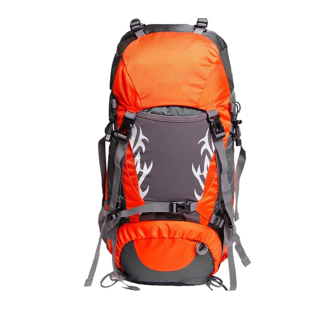 50Lキャンプバックパックアウトドア登山バッグ大容量ショルダー旅行ハイキングバックパック超軽量スポーツ屋外バックパック (色 : B)  B B07GQGWG1J