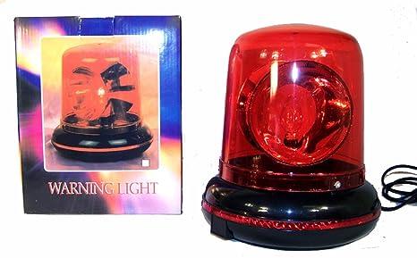 Flashing Red Light >> Rotating Flashing Emergency Warning Red Light Beacon