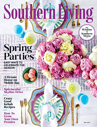 SOUTHERN LIVING Magazine (Living Covers Southern)