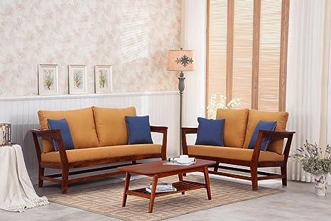 Js Home Decor Sheesham Wood Sofa Set Furniture For Living Room