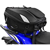 Motorcycle Seat Tail Bag Backpack Dual Use Motorcycle Waterproof Helmet Bag