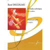 35 Etudes Techniques - Saxophone - Book