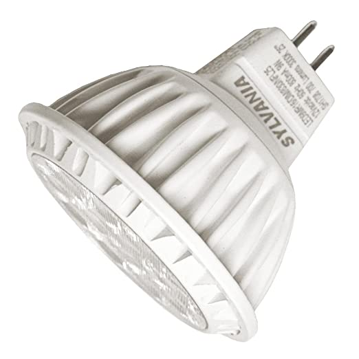 Sylvania 74044 - LED9MR16/DIM/830/NFL25 9-Watt (50W Equal) MR16 Dimmable NFL25 LED Lamp, 3000K - - Amazon.com