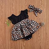 Infant Baby Girl Summer Outfits Ruffle Lace