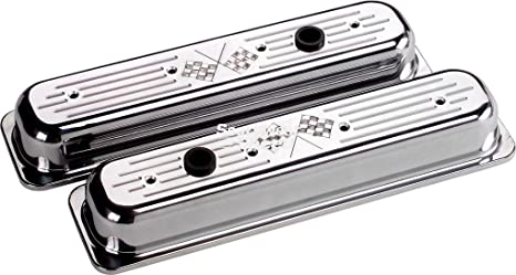 "STEEL BREATHER FOR VALVE COVERS 2-3//4/"" PAIR BLACK 2 PC SET"