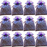 zziggysgal 12-pack 3' x 3' Organza French Lavender Filled Sachets lavender
