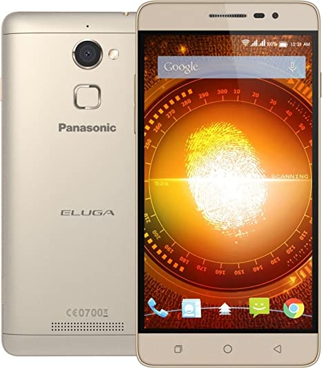 Panasonic Eluga Mark Metallic (Grey) Smartphones at amazon