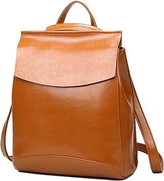 Yan Show Damen Neu Leder Schulter Taschen Rucksack Handtaschen Amazon De Koffer Rucksacke Taschen