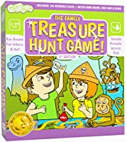 GoTrovo Treasure Hunt Game Fun Scavenger Hunt Board Game for Kids Indoors and Outdoor Mom's Choice Gold Award Winner