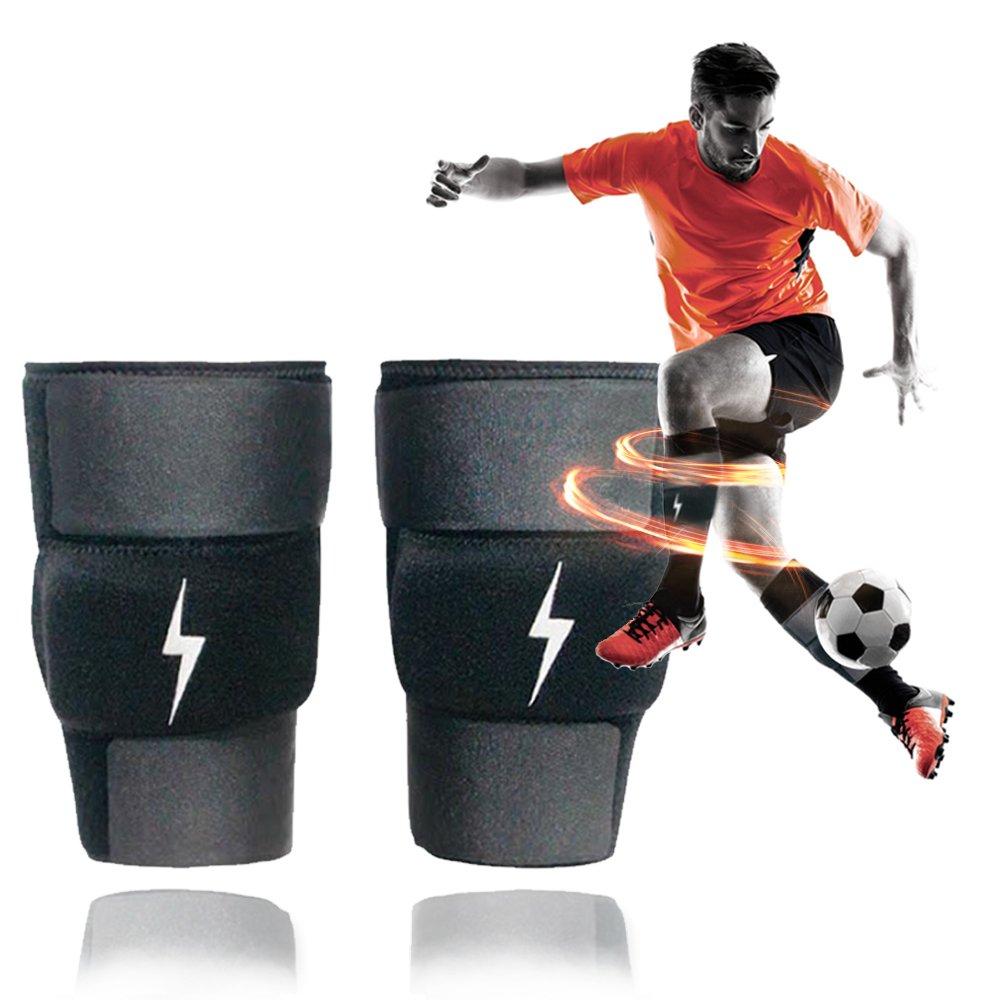 新しいボルトX 1lbサッカートレーニングShin Sleeves Best forサッカートレーニング、スポーツ&アジリティトレーニング速度向上、速度&フィットネス、交換Proサッカーすね当てとワークアウトが練習 B077QRSMX8