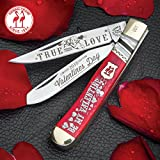 Kissing Crane 2018 Valentine's Day Trapper Knife Review