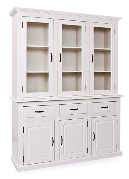 Esidra Billings Credenza, Legno, Bianco, 171x51x212 cm: Amazon.it ...
