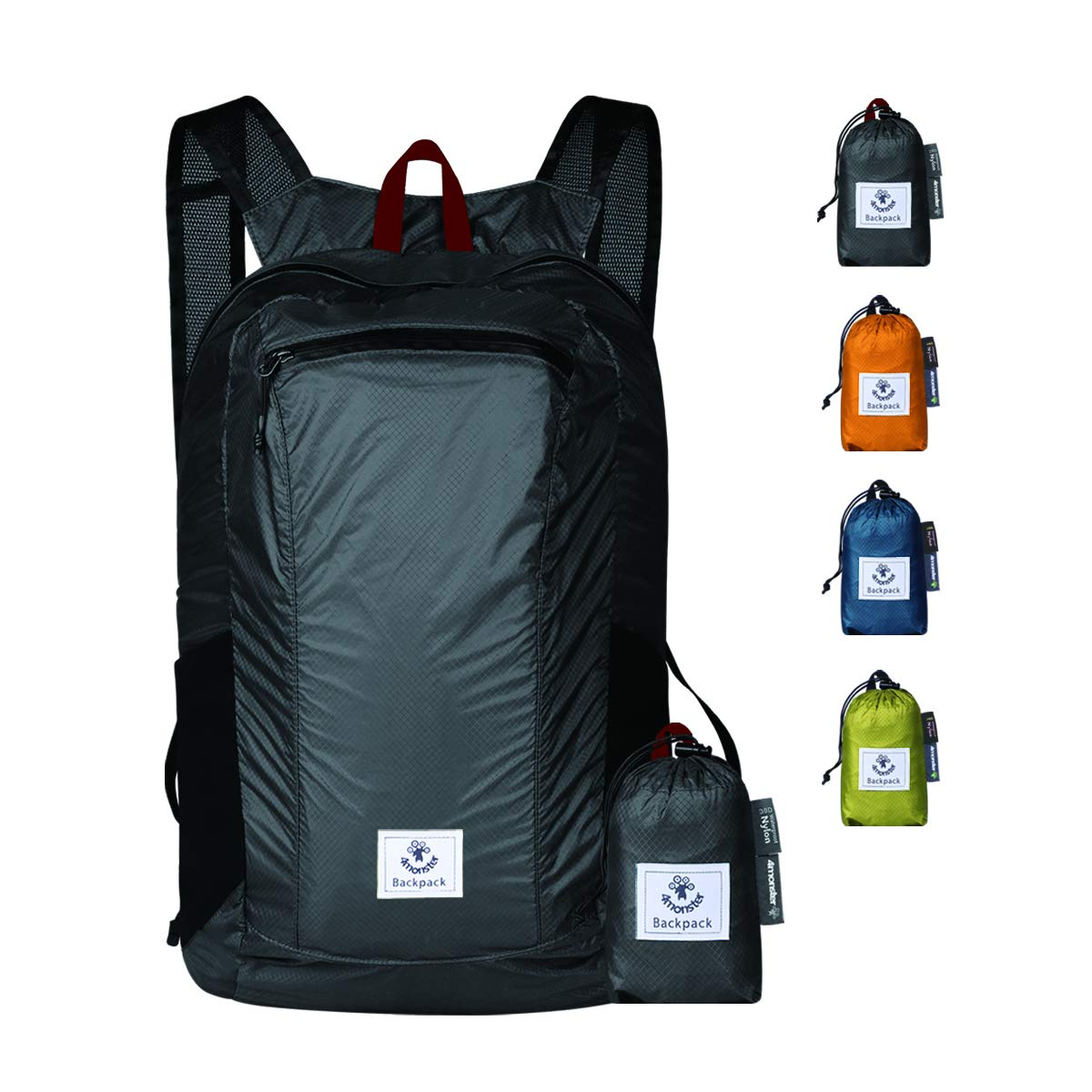 The 4monster Durable Backpack travel product recommended by Ronald D'souza on Lifney.