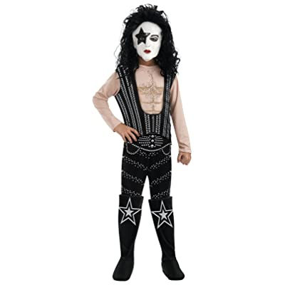 Kiss Deluxe The Starchild Costume - One Color - Large: Toys & Games