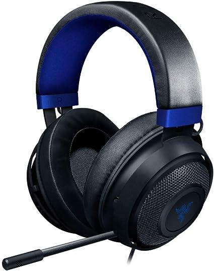 Razer Kraken para Consolas Auriculares Gaming con Cable, Compatible con PC, PS4, Xbox One, Nintendo Switch con controlador de 50 mm, micrófono retráctil y almohadillas de gel, Negro: Amazon.es: Informática