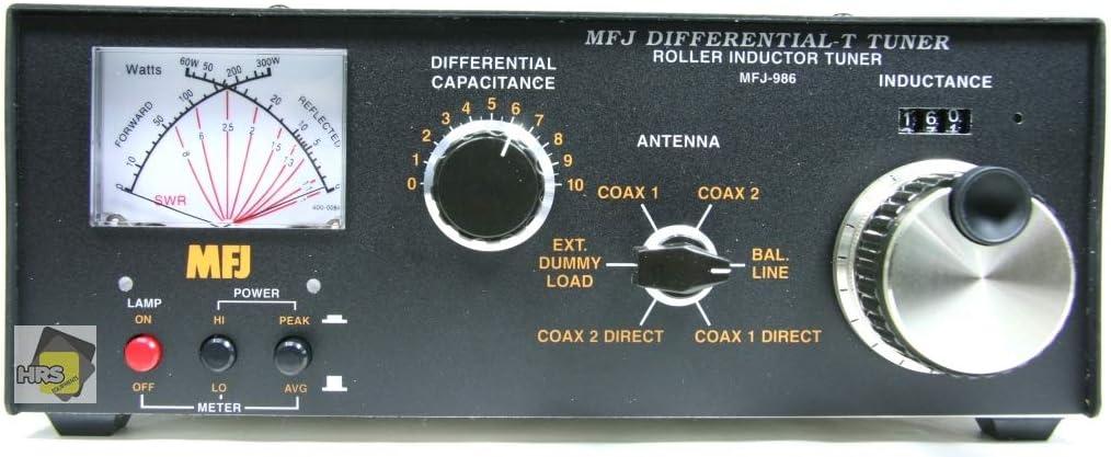 MFJ-986 - Acoplador dentado de 3 kW: Amazon.es: Electrónica