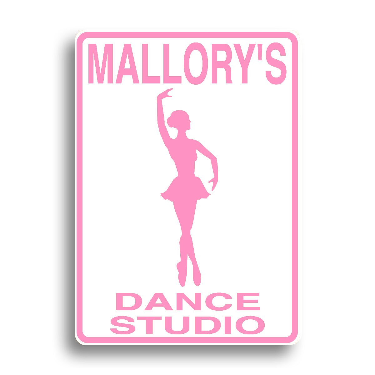 Dance Studio sign personalized and shipped fast!