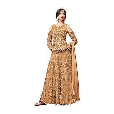 bereit, ab Schulter Bollywood Designer Frauen Party tragen ...