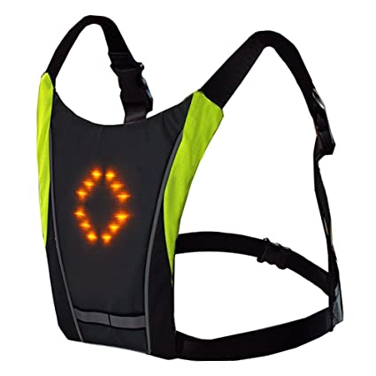Efficient Lixada Bike Bag Usb Reflective Vest With Led Turn Signal Light Remote Control Sport Safety Bag Gear For Cycling Jogging Available In Various Designs And Specifications For Your Selection Cycling