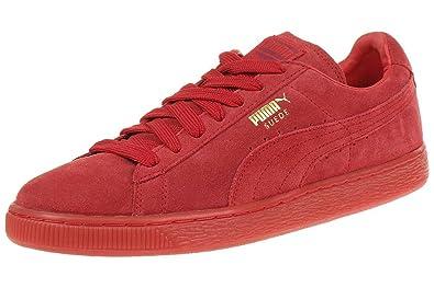 Schuhe Suede Sneaker Rot Puma 360231 Leder Herren ClassicMono Iced bYyvg7f6