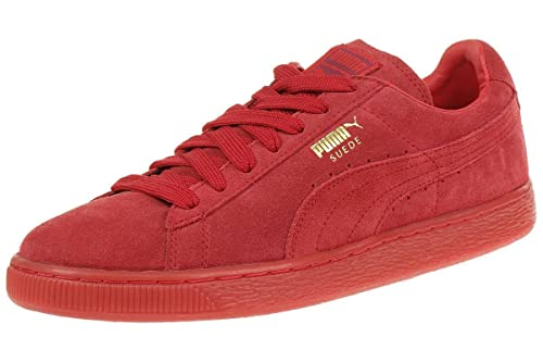 grossiste abe64 3e30c Puma Suede Classic+ Mono ICED Leather Sneaker Men Trainers red 360231 05