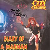 Ozzy Osbourne Signed Autographed Diary Of Madman