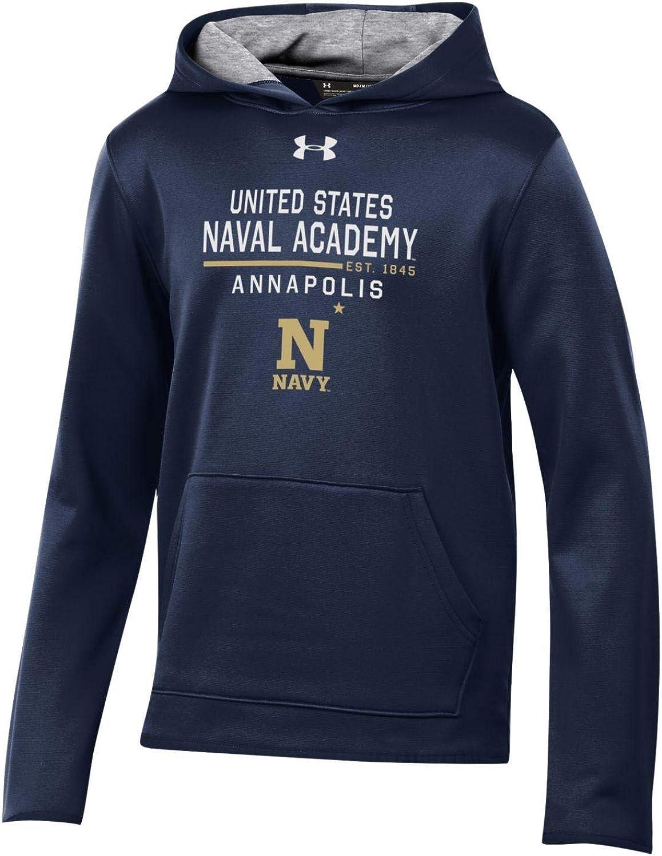 Naval Academy Navy Boys Youth Hooded Sweatshirt Hoodie United States U.S