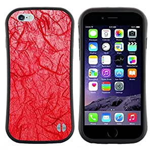 Pulsar iFace Series Tpu silicona Carcasa Funda Case para Apple (4.7 inches!!!) iPhone 6 Plus / 6S Plus ( 5.5 ) , Biología doctor Goth Red""