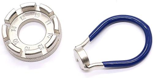 Bicycle Spoke Wrench Set 6 In One Wheel Rim Correction Truing Tool Kit
