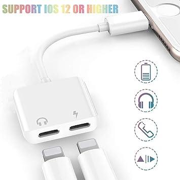 Adaptador de Auriculares para iPhone 7 AUX Adaptador de ...