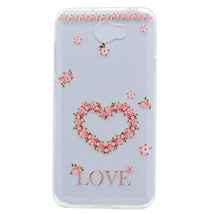 Amazon com: Huawei Y5 II Clear Case Ultra Thin Anti-slip TPU Cover