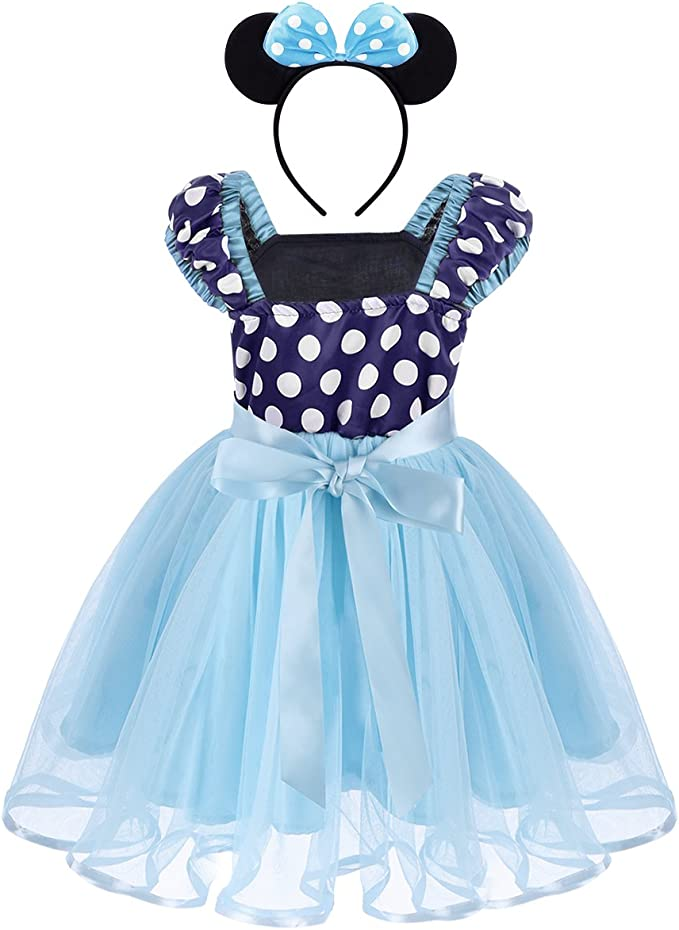 OwlFay Disfraz Princesa para Niña Bebé Lunares Fantasía Vestidos ...