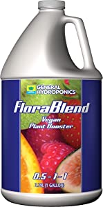 General Hydroponics Flora Blend for Gardening, 1 gal