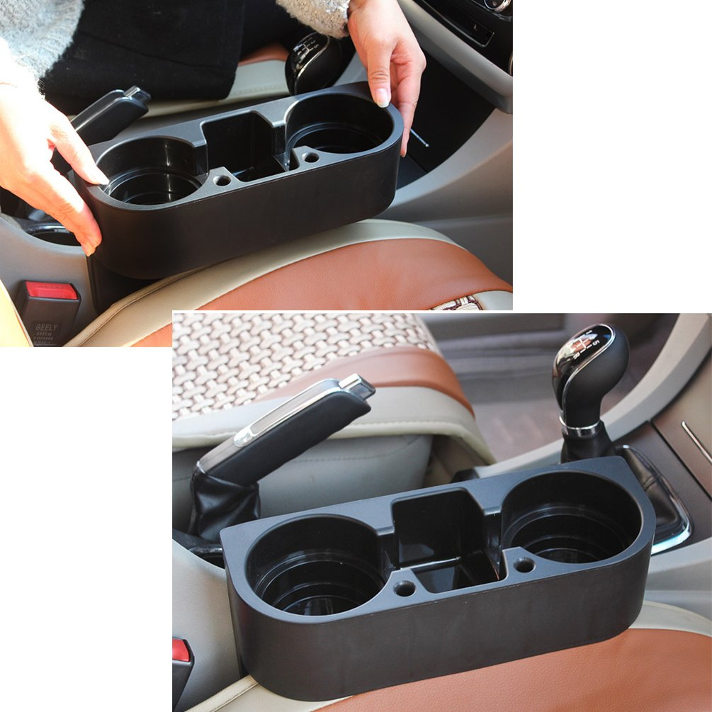 Universal Car Drink Holder Storage Compartment Can Holder Cup Holder Coffee Holder for Audi BMW VW Cars Trucks